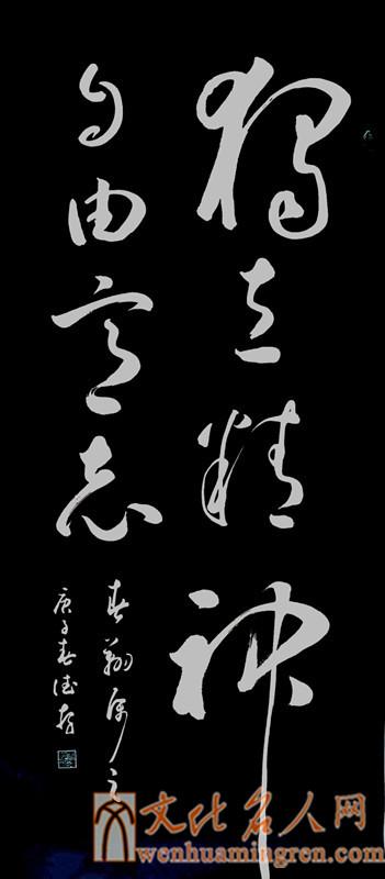 【书法家方德存书法作品欣赏】独立精神,自由意志